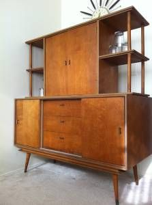 mid century credenza / bar - Hannah, Something like this could be cool if it were more vertical and less wide - unless you were willing to sacrifice the coat closet