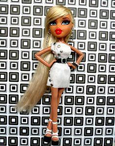 Bratz Carmen Elsbury - Black and White Fashion Option 1 by DisneyKid, via Flickr