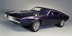 1970 ford mustang milano concept...haaat