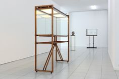 Carol Bove/Carlo Scarpa at Museum Dhondt-Dhaenens