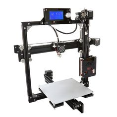 The Printer or rapid prototyping system is a computer assisted manufacturing process where software guides the creation of three dimensional models. In the past model makers had to rely on plastic formers or metal modeling techniqu 3d Printer Video, 3d Printer Reviews, 3d Printer Price, 3d Printer Software, Desktop 3d Printer, Best 3d Printer, 3d Printer Projects, Printer Desk, Prusa I3
