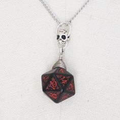 Ancestral Forge: Dungeons and Dragons D20 Necklace by Mortivoreium