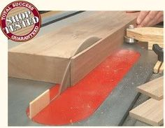 The Tool Crib – 8 Table Saw Ripping Jigs: Big Boards, Thin Strips