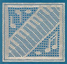 Filet Crochet Piano