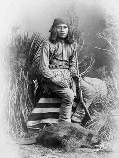 Apache Leader, 1885 by George Benjamin Wittick Native American Pictures, Native American Artwork, Native American Beauty, Native American Tribes, Native American History, American Indians, American Symbols, American Girls, Apache Indian