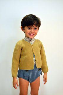 Ropa para niños para este Invierno 2014 con la moda infantil de Pilar Batanero