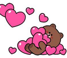 Cute Love Pictures, Cute Love Gif, Cute Love Memes, Love Images, Good Morning Gif Disney, Love Cartoon Couple, Heart Gif, Cartoon Clip, Cute Love Stories