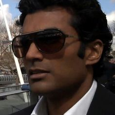 71f9e7fae87d Actor Sendhil Ramamurthy wears a pair of Lacoste sunglasses in the movie  It s a Wonderful Afterlife