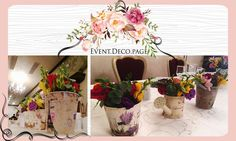 Wedding presidium & Grooms table by Event Deco. Find us on Facebook, Event.Deco.page! Grooms Table, Anniversary Parties, Christening, Floral Wedding, Romantic, Table Decorations, Facebook, Party, Home Decor