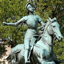 Who of the following has monuments in the United States? Founder of Ku-Klux-Klan.