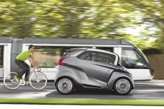 Peugeot's BB1 Electric Micro Car