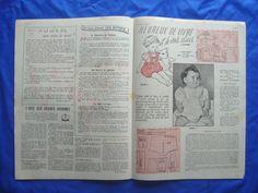 vintage French ECHO MODE magazine LINGERIE UNDERWEAR sewing pattern 1950s 50s | eBay