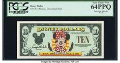 レイム・オーコレクション: 2019 April 2 Weekly US Currency Internet Auction Disneyland, Auction, Disney Resorts