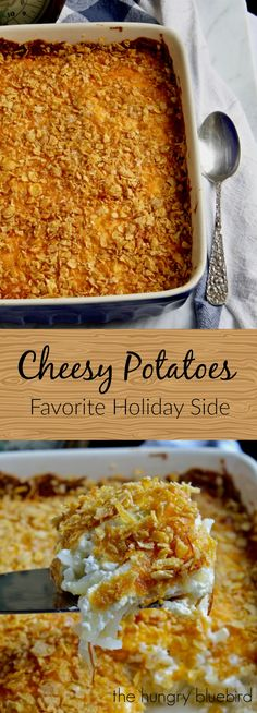 Classic hash brown casserole ~ a Midwest hot dish favorite