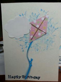 My version of Mona's kite card :)