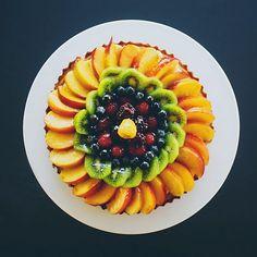 fruit tart!