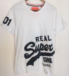 Vintage SuperDry Premium Entry Tee Shirt Mens  XL Black label Goods   | eBay