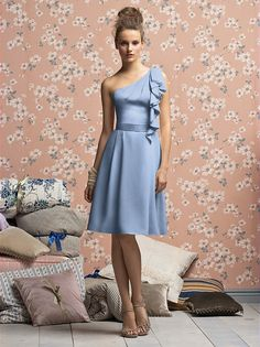 Lela Rose Bridesmaids Style LR140XX http://www.dessy.com/dresses/lelarose/lr140/?color=platinum&colorid=64#.VePFebTNY0p