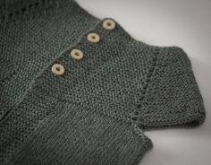 s w e e t p u r l s: FO: Garter Stitch Yoke Vest