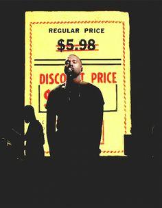 New Kanye West Rap Music Star Yeezus Custom Poster Print Art Decor T-640