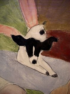 Milton Avery: The Green Settee (1943) by flickrman123, via Flickr
