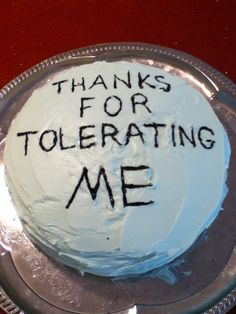 I saw this and figured everyone deserves a cake like this at least once in your life. (We probably need to hand out more than a few to others while we're at it).
