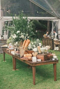 Food Bar Ideas for Your Wedding : Brides.com                                                                                                                                                                                 More