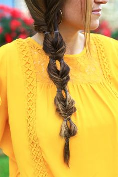 Double Bubble Fishtail | Cute Girls Hairstyles