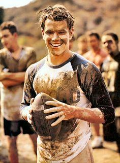 Matt Damon. Love him!