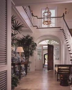 British West Indies - Interior foyer.