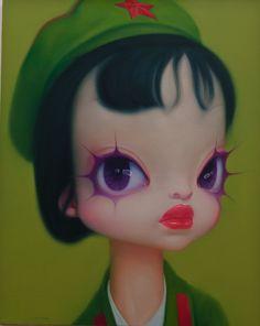 Strange Voguish Oil Paintings by Wang Zhijie