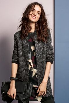 Buy Grey Knitted Jacket online today at Next: Rep. of Ireland