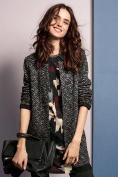 Next: Japan のウェブサイトで今すぐ グレー ニットジャケット を購入