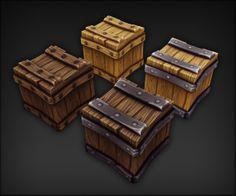 Wooden boxes by VFajardo - Vitor Fajardo - CGHUB
