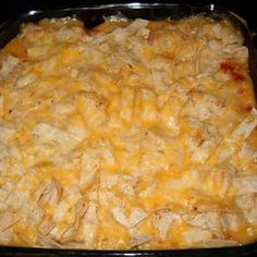 Can make it the night/morning before, Can add extra cheese into the soup mixture for extra cheese flavor