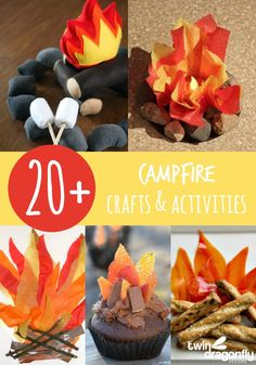 20+ ideas for Camp Out VBS!