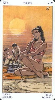 XIX The Sun #tarotcardsdiy