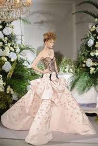 Dior Haute Couture Corset Gown