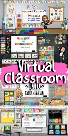 Classroom Images, Google Classroom, Classroom Themes, Kindergarten Science, Kindergarten Classroom, School Age Activities, Classroom Background, Virtual Class, Blended Learning