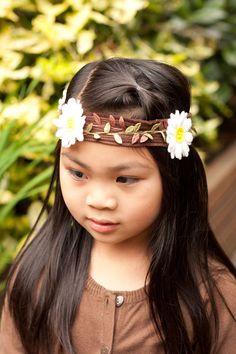 felt headband--daisy