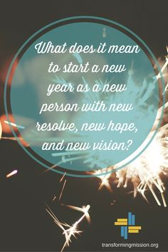 What does it mean to begin the new year...?