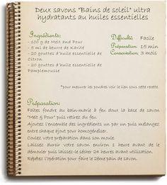 Recette de savon maison hydratant au karité et huiles essentielles