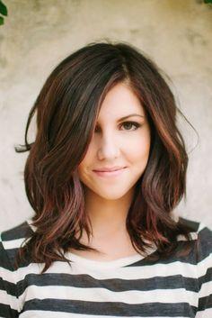 cute simple hair style