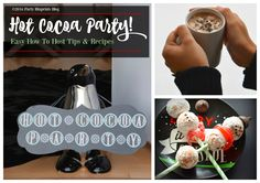 Easy To Host Hot Cocoa Party | The Party Bluprints Blog ®