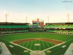 old comiskey park; in final years before the sox moved next door to new comiskey, now named us cellular