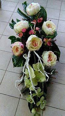 Funeral, Decoupage, Floral Wreath, Wreaths, Ideas, Decor, Floral Crown, Decoration, Door Wreaths