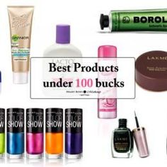 Best Affordable Beauty & Makeup Products In India Under Rs 150!