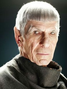 "Leonard Nimoy's last appearance as Spock in Star Trek ""Into Darkness"" 🖖 Star Trek Crew, Star Trek Tv, Star Wars, Spock, Star Trek Original Series, Star Trek Series, Star Trek Enterprise, Star Trek Voyager, Star Trek 2009"