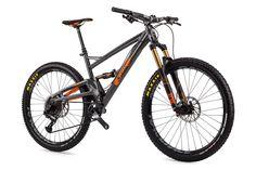"""Orange Four Factory 27.5"""" 2017 Mountain Bike from Wheelies"""