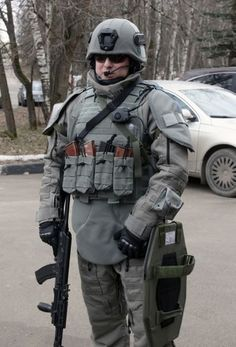 The new Russian military equipment